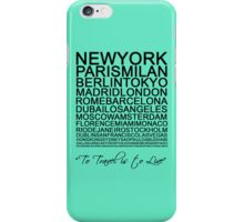 Travelling is a state of mind #1 iPhone Case/Skin