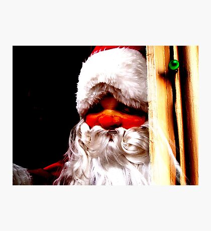 He Sees You When You're Sleeping.. Photographic Print