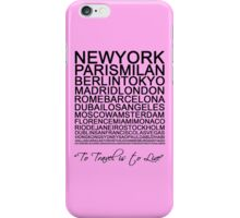 Travelling is a state of mind #3 iPhone Case/Skin