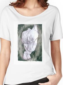 Study of a wrapped tree - Environmental art Women's Relaxed Fit T-Shirt