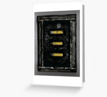 Assemblage #4 - Collected cigarettes Greeting Card