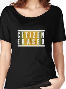 citizen erased Women's Relaxed Fit T-Shirt