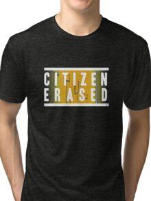 citizen erased Tri-blend T-Shirt