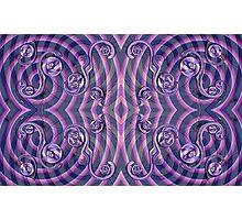 Violet Wake Photographic Print