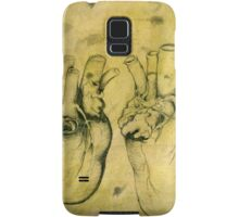 Anatomical study of human heart - Pen and ink  Samsung Galaxy Case/Skin