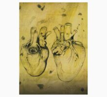 Anatomical study of human heart - Pen and ink  Kids Clothes