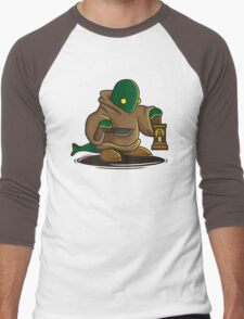 Tomberi Men's Baseball ¾ T-Shirt