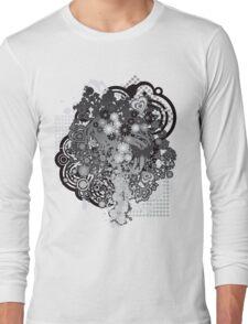 Floral_Flow Long Sleeve T-Shirt