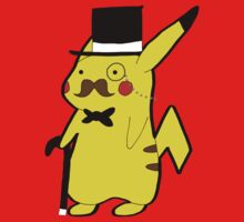 Classy Pikachastache by anonfangirl