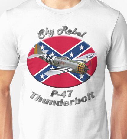 P-47 Thunderbolt Sky Rebel Unisex T-Shirt