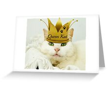 Queen Kat Greeting Card