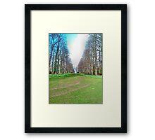 Inbetween Tree Army Framed Print