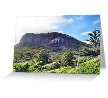 Jurrasic Hills Greeting Card