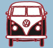 Graphic Splittie Campervan Kids Clothes
