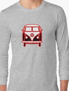 Graphic Splittie Campervan Long Sleeve T-Shirt