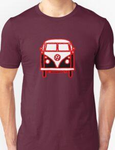 Graphic Splittie Campervan Unisex T-Shirt