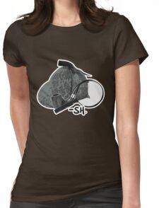 Sherlock Holmes paraphernalia Womens Fitted T-Shirt