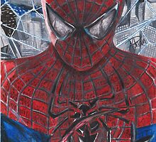 Spiderman by acillustrations