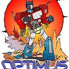 Optimus Prime Zombie by Skree