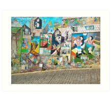 Street Graffiti Art Print