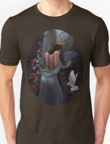 Kushiels Dart Phedre at the Temple of the Angel of Punishment Unisex T-Shirt