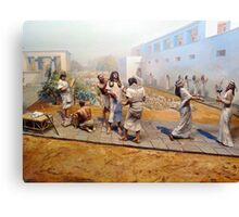 Bow to me SLAVES! Canvas Print