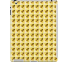 Compartment Design Gold iPad Case/Skin