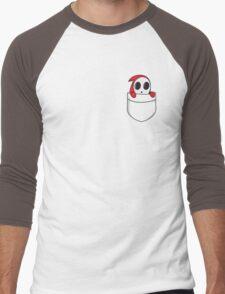 Shy little guy. Men's Baseball ¾ T-Shirt