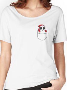 Shy little guy. Women's Relaxed Fit T-Shirt