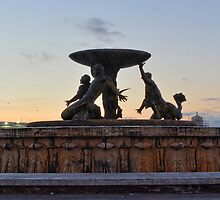 Valletta Fountain by sgrixti