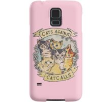 Cats Against Cat Calls Samsung Galaxy Case/Skin
