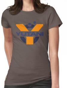 Yutani Corporation (pre Weyland takeover) Womens Fitted T-Shirt