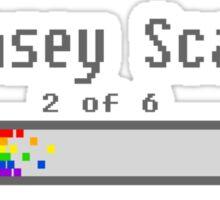 Kinsey Scale 2 Sticker