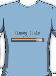 Kinsey Scale 5 T-Shirt
