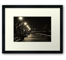 There is something in the New York air that makes sleep useless. Simone Beauvoir Framed Print
