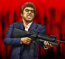 Scarface by benhayward1989