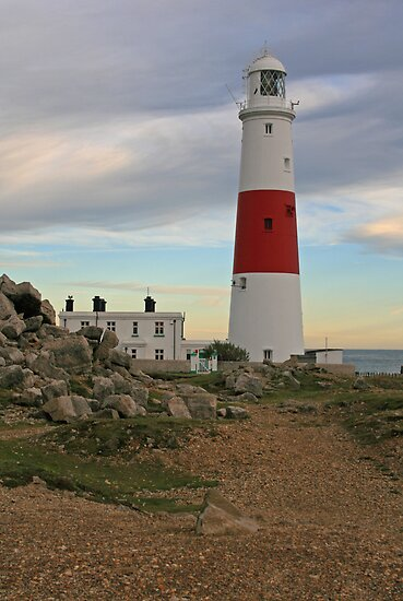 Portland Bill Lighthouse, Dorset by RedHillDigital