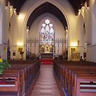 Main Aisle, St. John's Anglican Church, Fremantle by lezvee