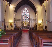 Main Aisle, St. John's Anglican Church, Fremantle by lezvee