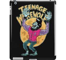 teenage werewolf iPad Case/Skin