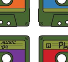 Teenage Mix Tapes Sticker