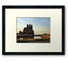 The Abbey at Sunset Framed Print