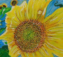 sunflower by timothy  compton
