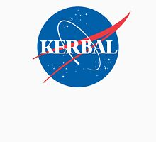 Kerbal Space Program NASA logo (large) T-Shirt
