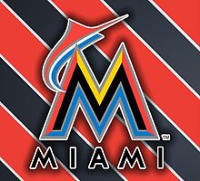 Miami Marlins Phone Case by AndrewTheGOAT