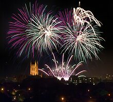 Worcester Fireworks by SiClews
