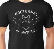 Nocturnal is Natural Unisex T-Shirt