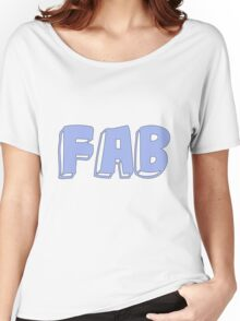 Fab Design Women's Relaxed Fit T-Shirt