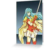 Fire Emblem: The Sacred Stones - Eirika Greeting Card