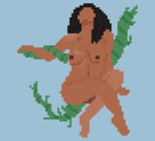 Reclining Nude in 8-Bit by ultraboom3